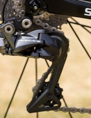 Team Sky run full Shimano Dura-Ace R9150 electronic groupsets