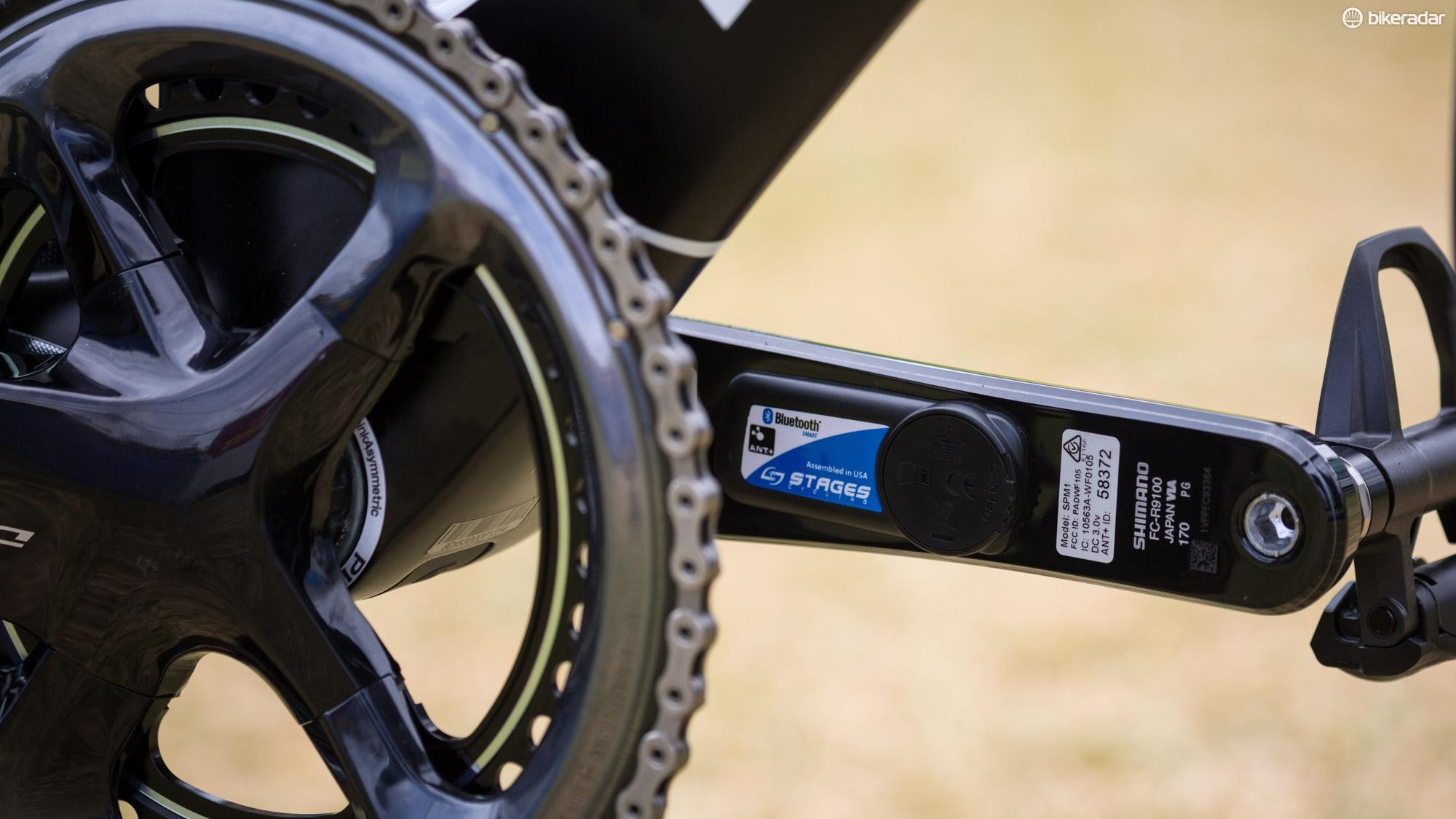 Team Sky have the choice of Stages or Shimano power meters for 2018, but at the Tour Down Under there is one clear favourite