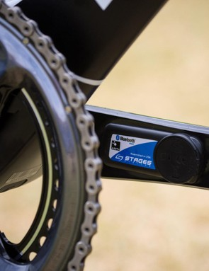 Stages officially announced it would be supplying Team Sky with power meters today, and the team is racing on them at the Tour Down Under