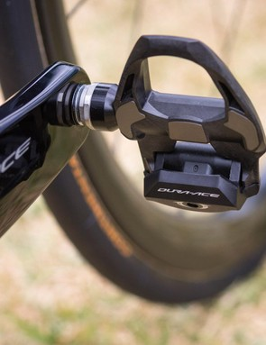 Shimano's Dura-Ace R9100 groupset extends to the pedals