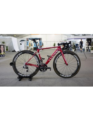 Katusha-Alpecin's Canyon Ultimate CF SLX with SRAM Red eTap and Zipp 454 NSW wheels