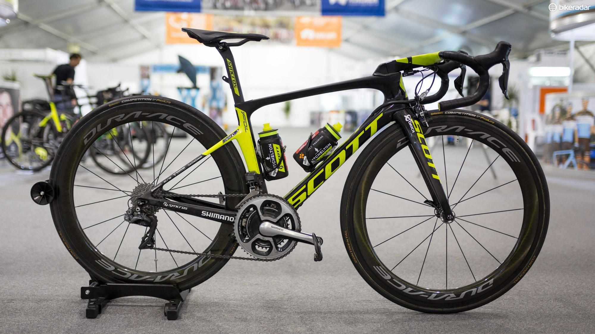 Caleb Ewan's Scott Foil RC for 2018