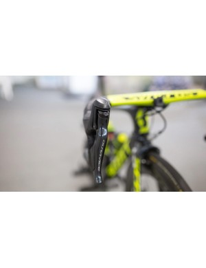 A closer look at the Shimano Dura-Ace R9150 levers