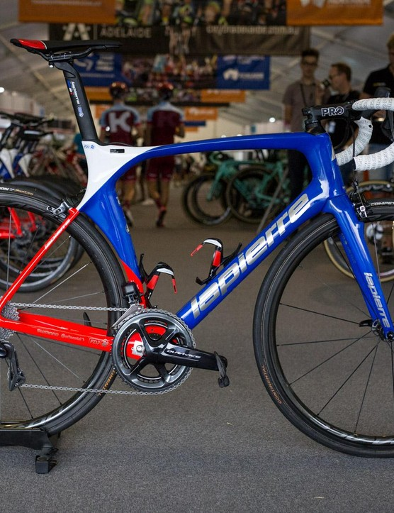FDJ's Lapierre Aircode with Shimano Dura-Ace R9150 and Dura-Ace R9100 wheels