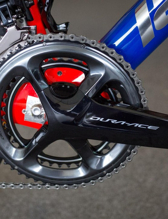 FDJ were the first WorldTour team to begin using Shimano power meters
