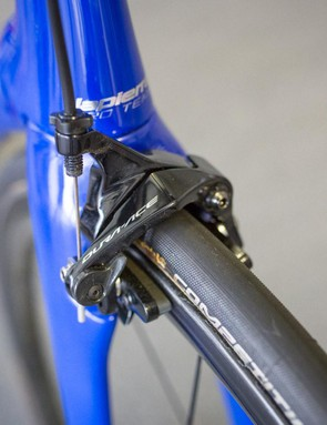 Shimano Dura-Ace R9100 brakes front and rear for the Italian