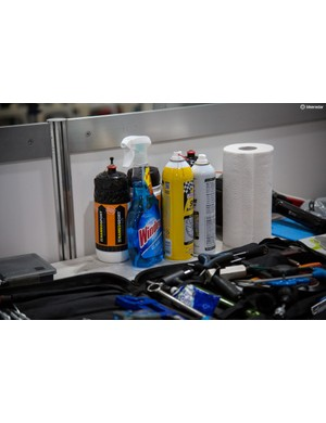 Windex can be found in many workstations