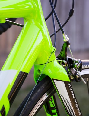 External cable routing makes for easy maintenance