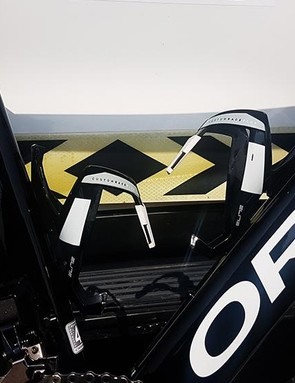 Elite provides the team with its Custom Race Plus bottle cages