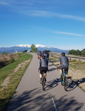 I took on plenty of gravel during my test rides near Perpignan in France, but it started with a cruise along some winding cycle tracks