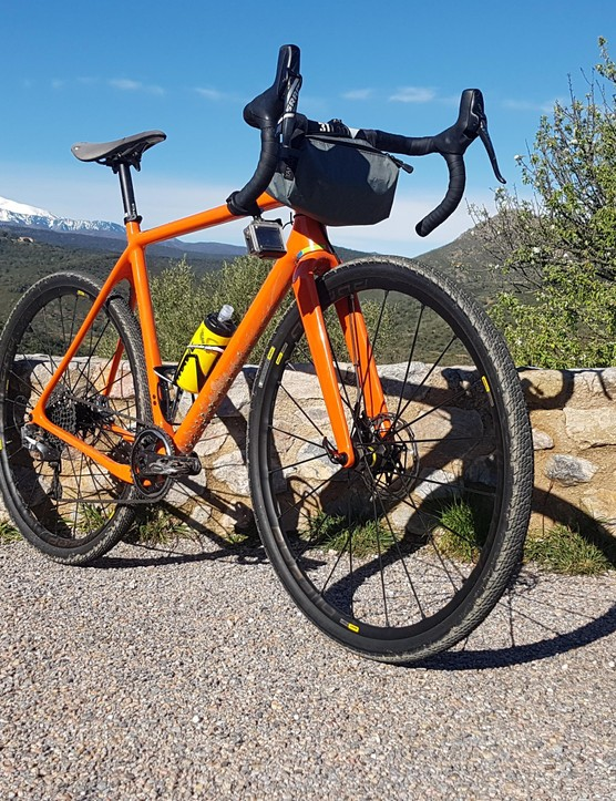 The Open Up was my gravel bike of choice for the test