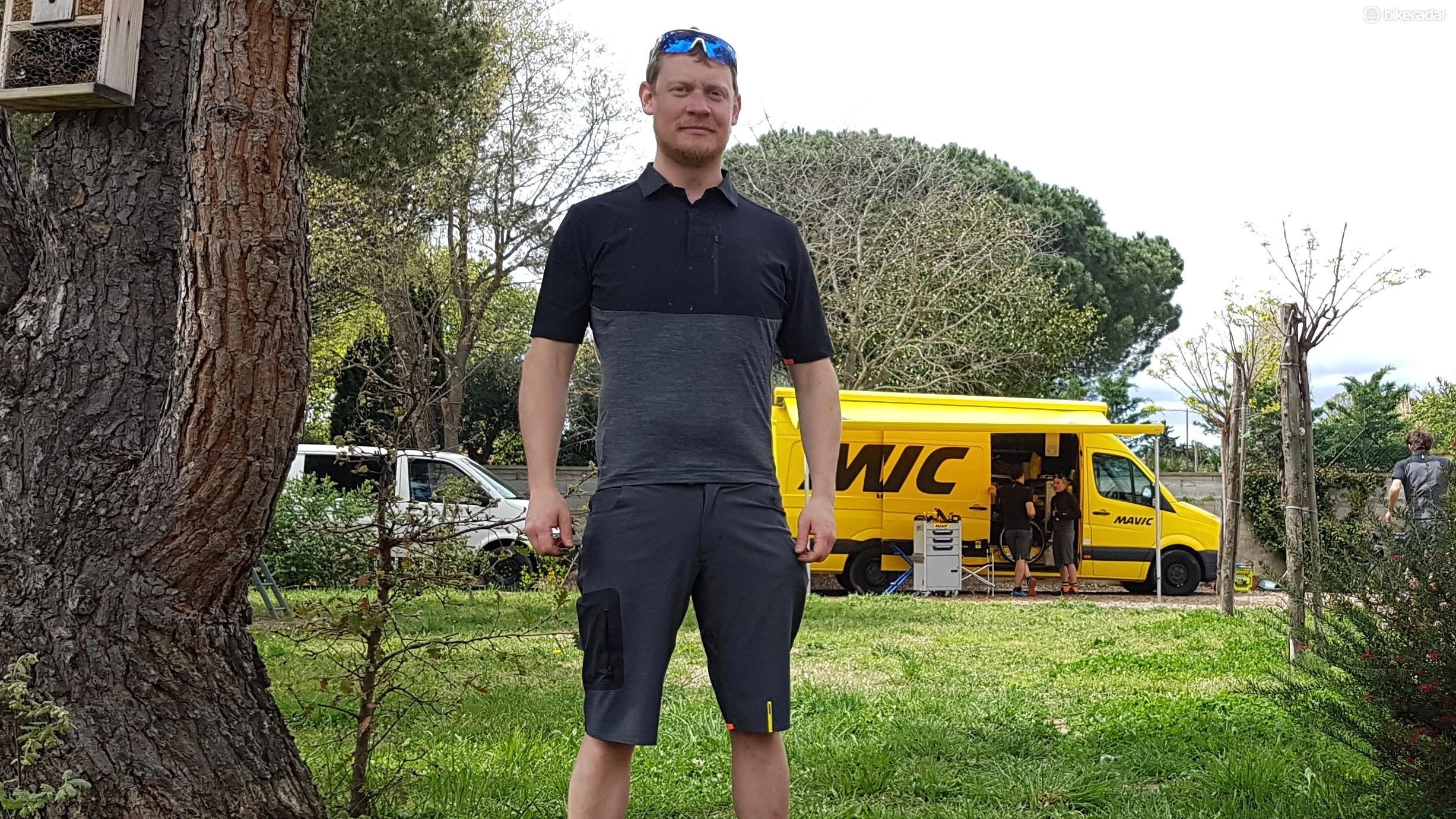 Mavic's AllRoad Jersey and Short are designed to be the perfect outfit for gravel riding