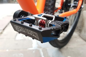 Loiuc Bruni is a superstar of DH, so a signature pair of pedals is no surprise to see