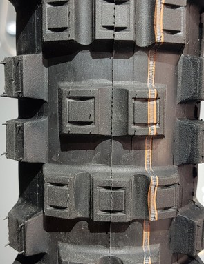 The blocky tread should provide chunks of traction