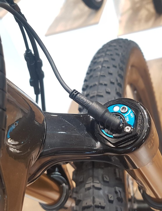Live Valve will also control the fork's damper