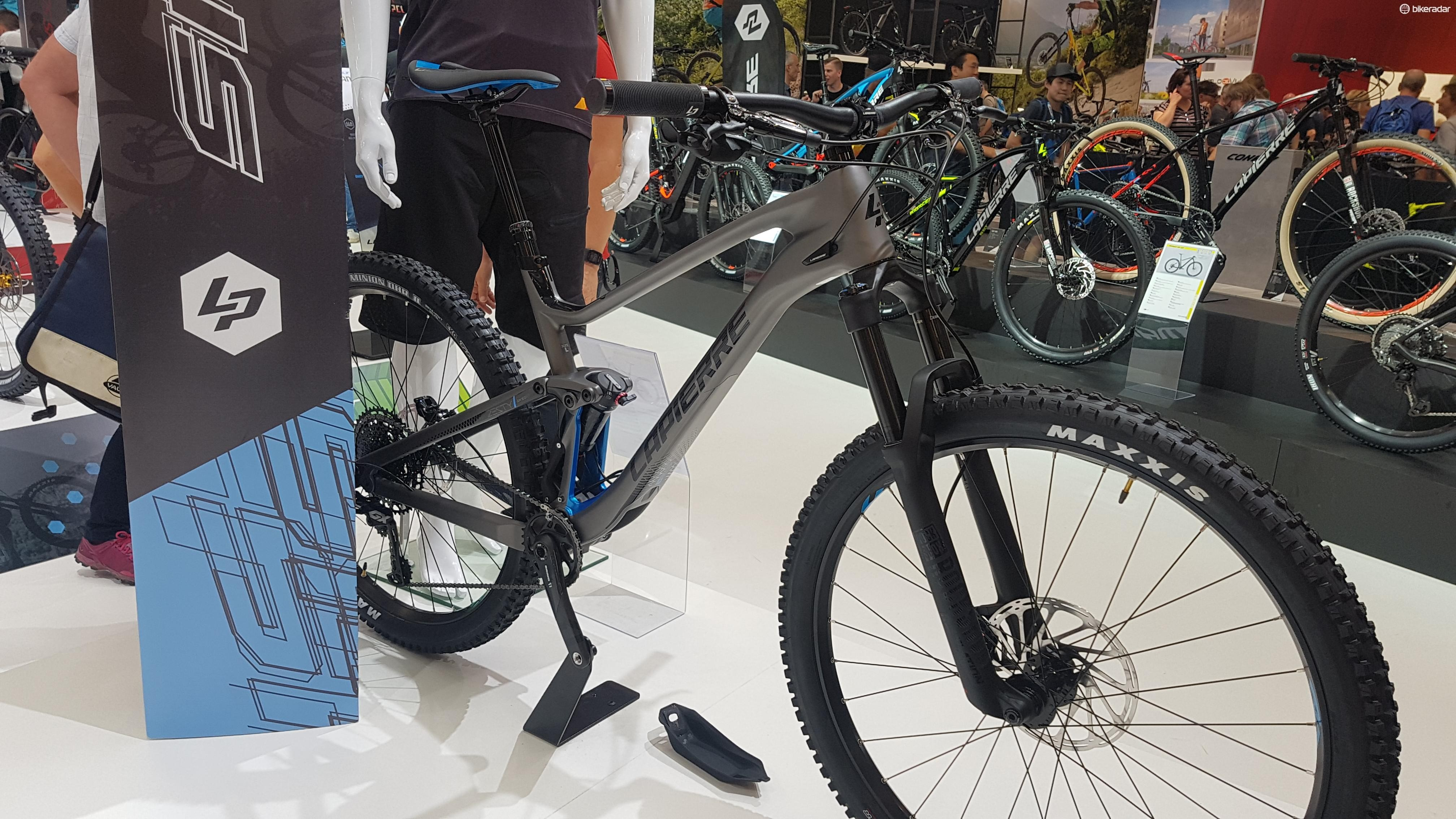 The Lapierre Zesty will have either 140 or 150mm of travel, and either 29in or 650b wheels