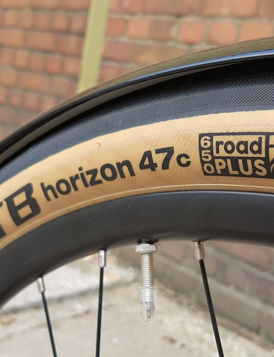 WTB's fat 47c Horizon tyres suggest comfort over speed