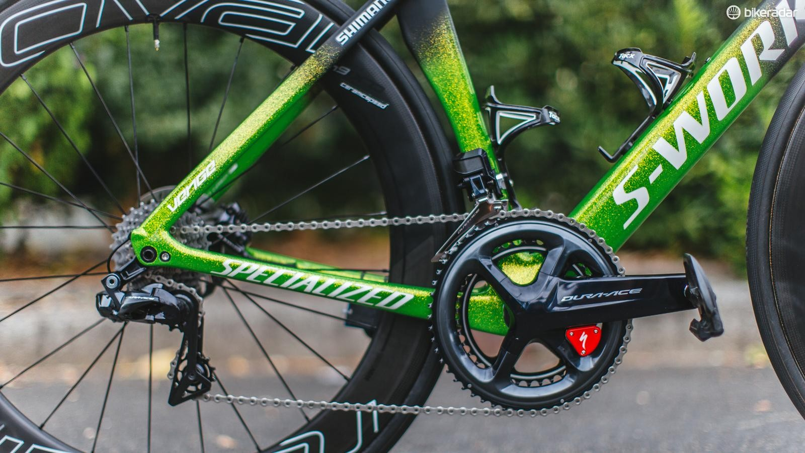 A look at Peter Sagan's drivetrain