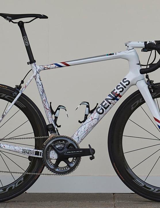 Connor Swift's custom-painted Genesis Zero SL
