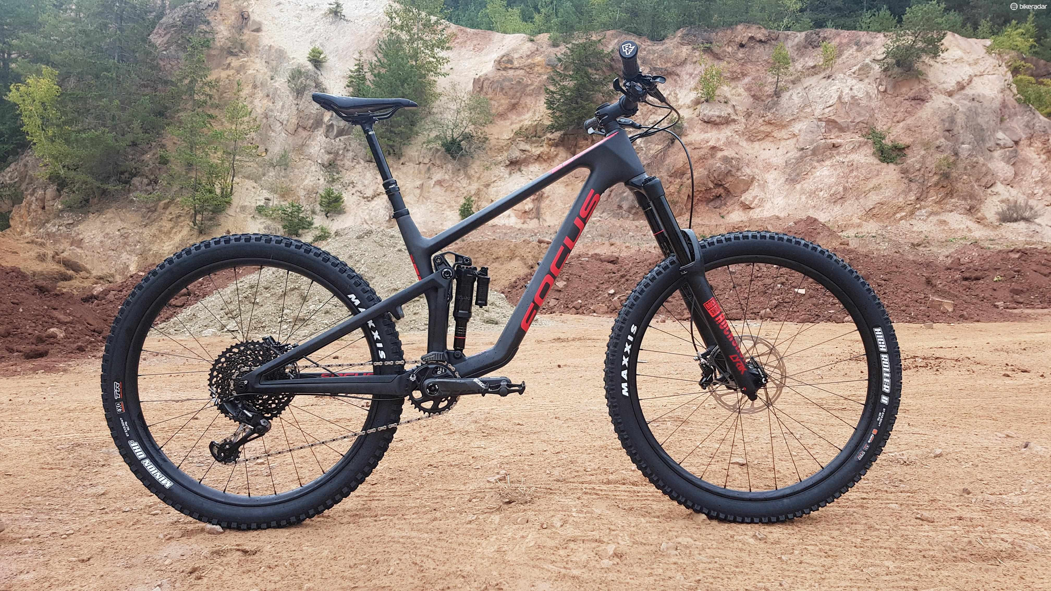 Focus's new SAM is a 170mm enduro bike