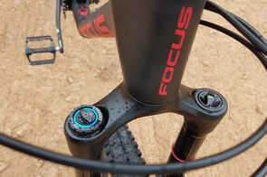 RockShox's Lyrik sits at the front of the top-end 9.9 model