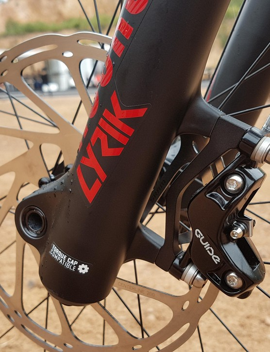SRAM componenets feature heavily on this bike