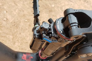 Plenty of adjustment is available on the RockShox Super Deluxe shock, though I'll need to do more when I get the bike home