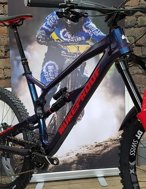 Top of the tree is the Mega 275 Carbon RS, which is basically the same spec that Sam Hill races