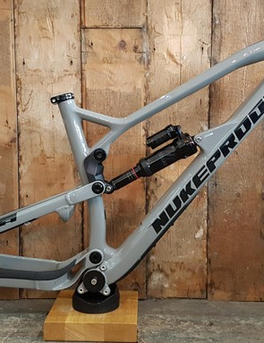 Nukeproof offers both the Mega Carbon (£2,200) and Alloy (£1,600), and Scout (£400), as frame only