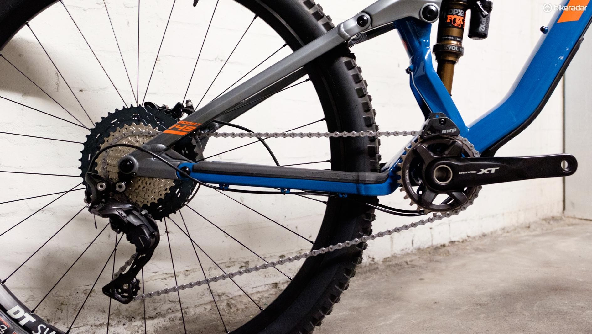 Shimano XT might not have the bling of XTR, but it's a damn good performer