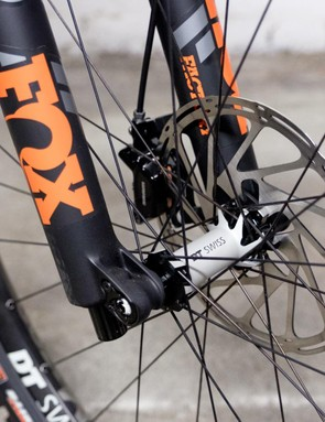 DT Swiss wheel, Fox suspension, Maxxis tyres — what more do you need?