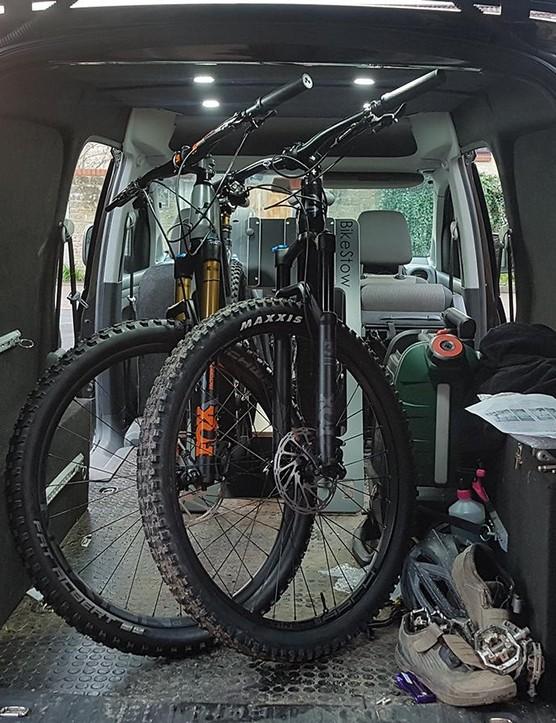 BikeStow offers secure bike storage in your van or garage