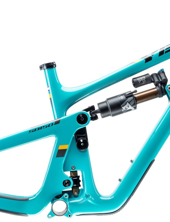 Yeti's 'Turq' colour is one of the most distinguishable on the market