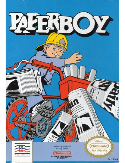 Atari's Paperboy was first released back in 1985