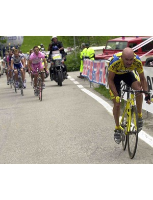Marco Pantani (R) poured his life into the bike, and it cost him everything.