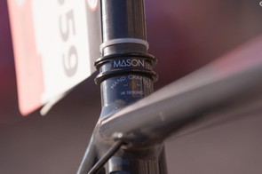 Mason frames are designed in England, made in Italy, and built up into full machines back in the UK