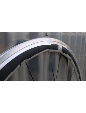 Amazingly, SwissSide also looked in to the benefits of whale tubercles, as recently seen on Zipp's new 454NSW wheelset.