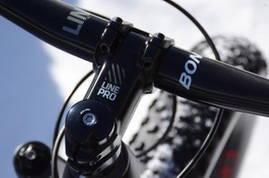 Bonty's Line Pro is shown, the stock build comes with a Line stem