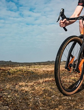 Lauf's Grit fork provides 30mm of travel for gravel and all-road bikes
