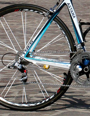 Low-profile carbon rims spin up quickly