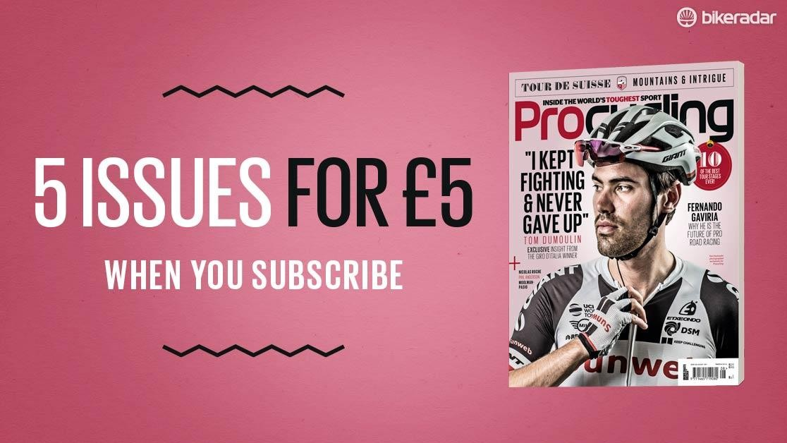 Get five issues of Procycling for just £5!