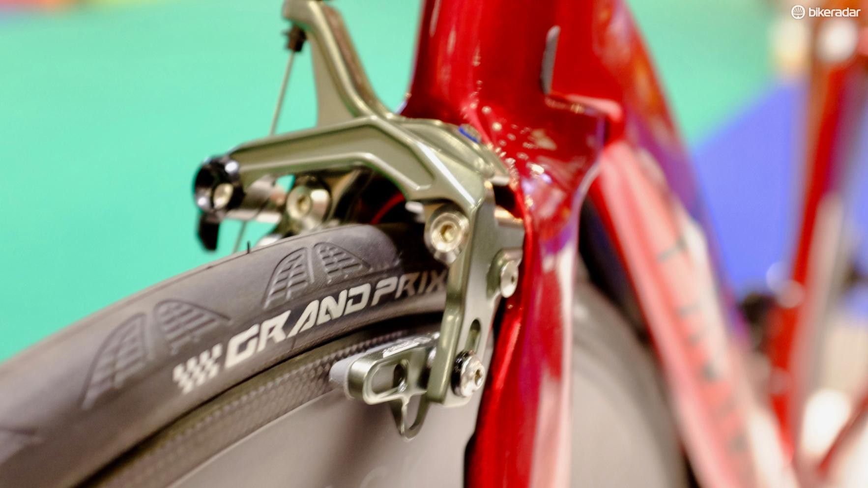 TRP direct-mount brakes look the business