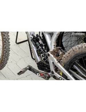 A lot of teams are running Rockshox's updated coil offerings this weekend