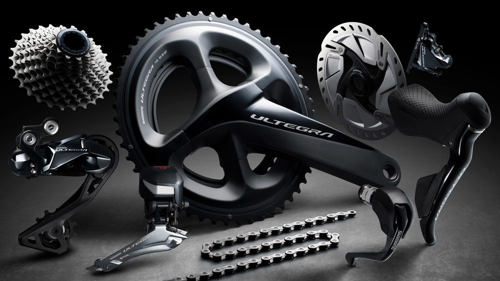 NEW Shimano Ultegra FC-R8000 52//36T Semi Compact Road Bike Double Crankset//BB