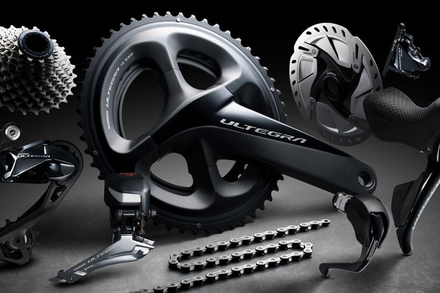 The new Shimano Ultegra Di2 in all its glory