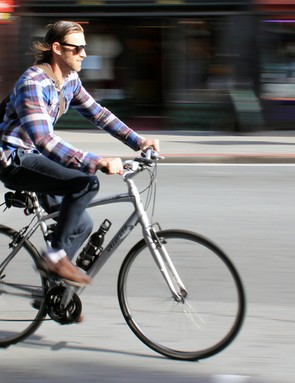 Hybrid bikes, as the name suggests, blend the features of both road and mountain bikes