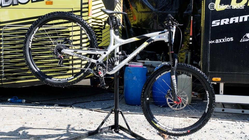 The new bike was ridden to 5th place by Remi Thirion