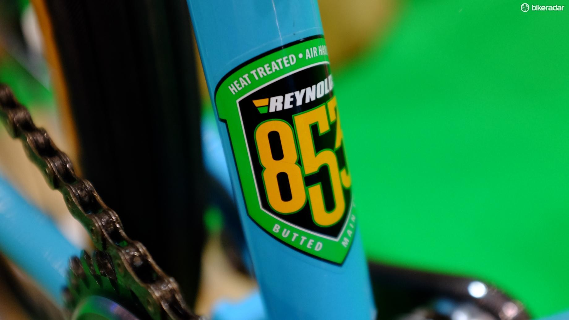 Reynolds' 853 chromoly is a superb starting point for any gravel frame