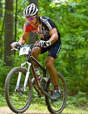 Eatough raced a 2009 Trek Top Fuel 9.9 SSL.