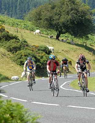 Climbing the 'hill with no name,' most riders could think of one or two suggestions